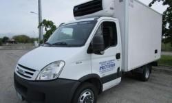 Noleggio furgone frigo